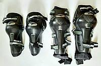 Комплект мотозащиты (колено, голень + предплечье, локоть) 4шт AXO Защита мото Захист, фото 1