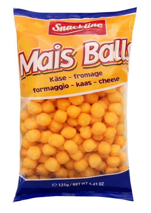 Снеки Mais Balls  SNAKLINE 125г