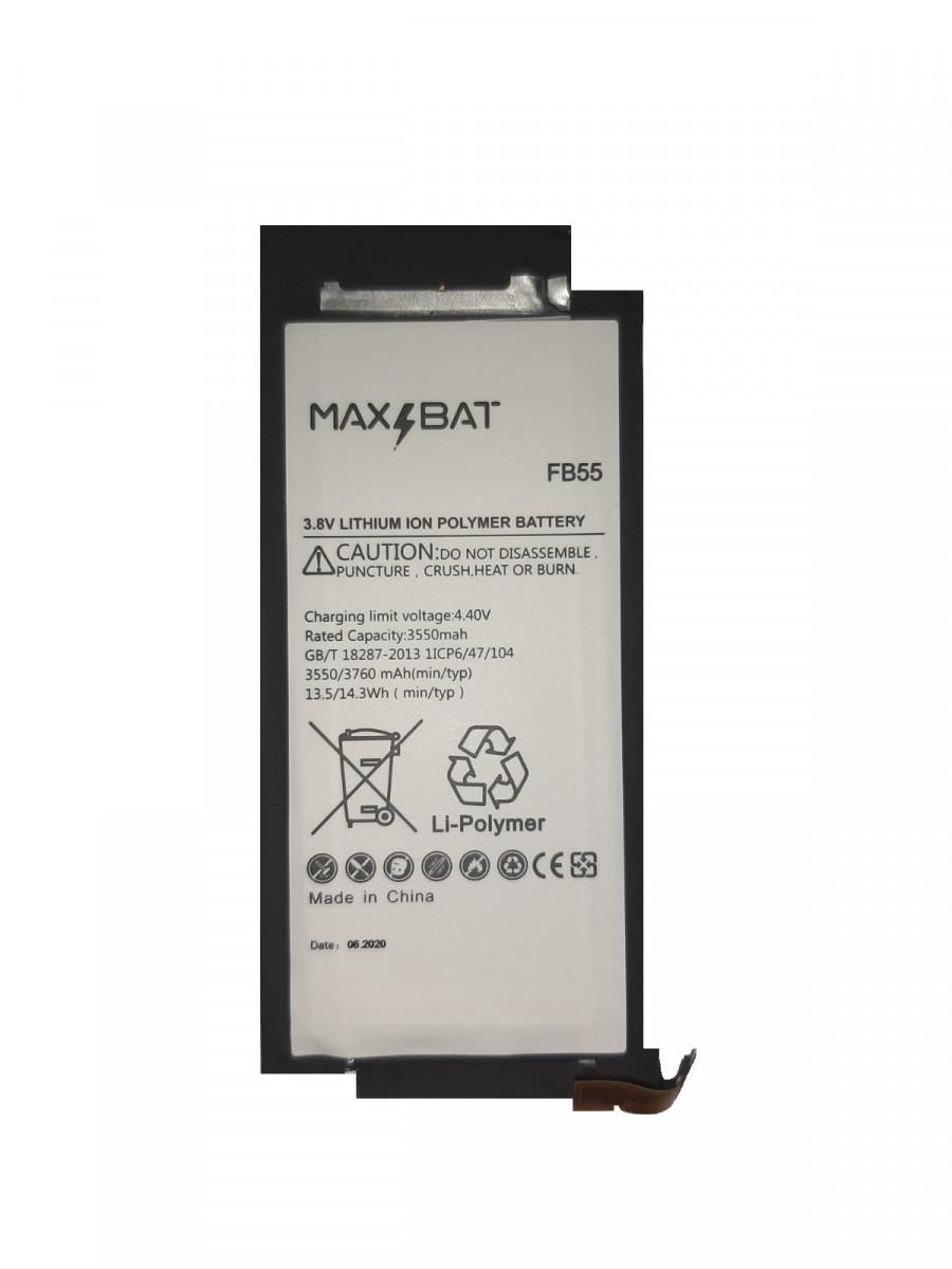 Аккумулятор акб MaxBat Motorola FB55 XT1580 Moto X Force | XT1581 | XT1585, 3550mAh