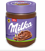 Шоколадно-горіхова паста Milka Hazelnuss Creme 600 г