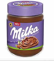 Шоколадно ореховая паста Milka Hazelnuss Creme 600 г