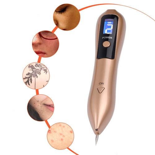 Коагулятор косметический, ЖК-дисплей 9 уровней для удаления папилом тату
