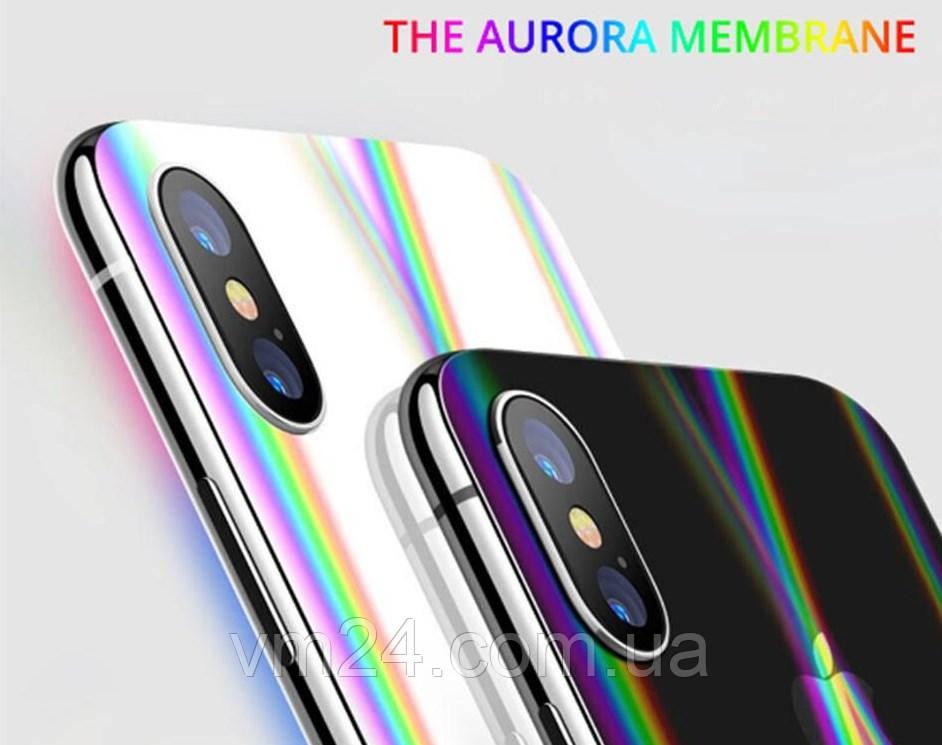 Аврора  Защита гидрогель для iPhone 11 Pro Xs Max XS XR Плюс 7. 6S 5 SE2020 Гидрогелевая пленка Aurora