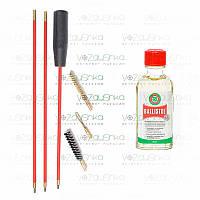 Набор для чистки калибра 5,6 (2 ерша, вишер) + Ballistol 50 ml