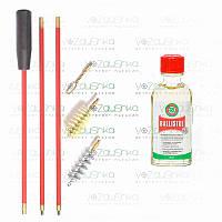 Набор для чистки ружья 12 калибра (2 ерша и вишер) + Ballistol 50 ml