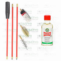 Набор для чистки ружья 12 калибра (3 ерша) + Ballistol 50 ml