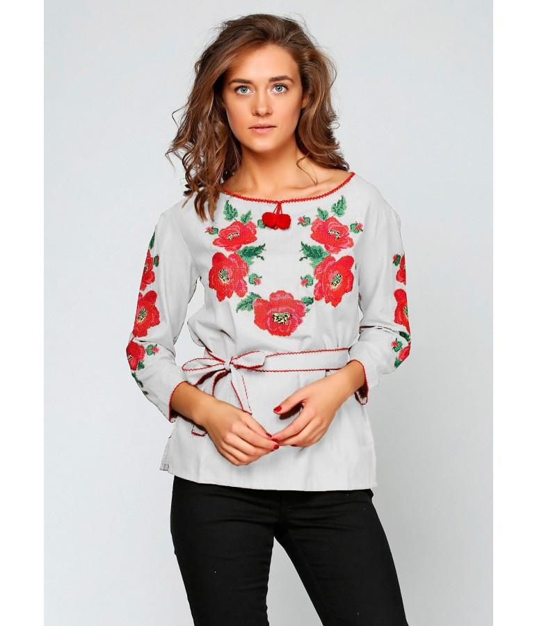 """Сорочка """"Квітковий вінок"""", 50 - 50 розміри"""