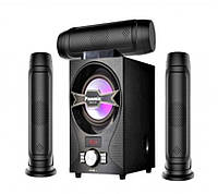 Акустическая мощная колонка PA E-603 в комплекте 4 шт, MP3/USB/SD, эквалайзер, 30Вт, Музыкальные колонки