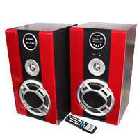 Акустическая мощная колонка PA Djack D60 AUX/USB/jack/Bluetooth, 50Вт, пульт ДУ, Колонки