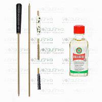 Набор для чистки пневматики 4,5 мм (ПВХ упаковка) + Ballistol 50 ml