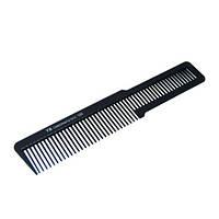 Гребень для волос T&G carbon YB166 пласмассовый, чёрный,  Гребень для волос,