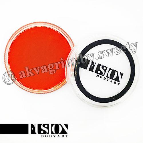 Аквагрим FUSION Основной Оранжевый 32g