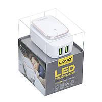 Сетевое Зарядное Устройство LDNIO A2205 Micro - Белый