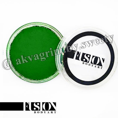 Аквагрим FUSION Основной Свежий Зеленый 32g