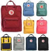 Сумка - рюкзак Fjallraven Kanken Classic с органайзером, бирюза, полиэстер, 16л, рюкзак женский