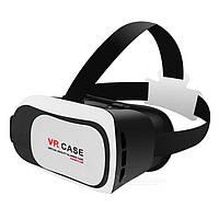 Очки виртуальной реальности VR BOX поддержка 3D видео и 3D игр, под телефон от 4 до 6 дюймов, регулируемые линзы, очки виртуальности