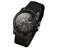 Часы наручные кварцевые мужские женские Swiss Army Black черные 1123-0002
