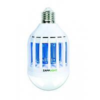 Светодиодная лампа приманка для насекомых Zapp Light 220В, работа до 10000ч, Уничтожители насекомых, Лампы от комаров