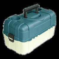 Ящик Aquatech 2706 для рыбалки, 6 полок, пластик размер 483х270х253мм, рыбацкий ящик, ящик для рыбацких снастей