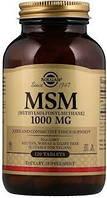 Препараты для восстановления суставов и связок Solgar MSM 1000 (120 таб)