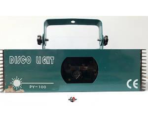 DISCO LIGHT PY100 Лазер графический зеленый (подержанный товар)
