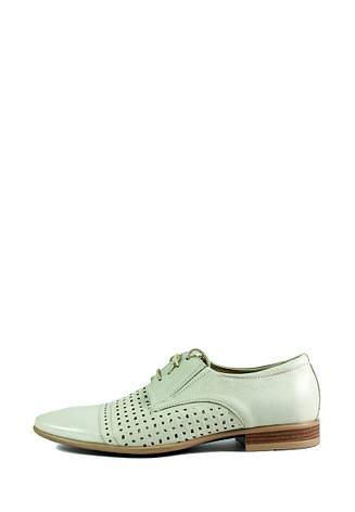 Туфли мужские MIDA 13072-14 белые (40), фото 2