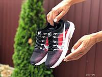 Женские кроссовки Nike ZOOM, чорні з червоним, черные с красным, жіночі кросівки найк, найки (9591)