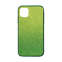 Чехол Case Original Glass TPU Ambre for Apple Iphone 11 Pro Max Розово-Голубой