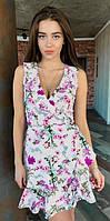Летнее женское платье 00523 KML S-L (44-48) Белый L
