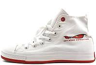 Женские кеды Converse Chuck Taylor All Star High Offroad Expedtion белые с красным р.36 Акция -50%!