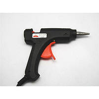 Клеевой пистолет маленький Carnation, черный, для стерженя 11 мм, электроинструмент для дома,крепежный инструмент, пистолет клеевой, инструмент