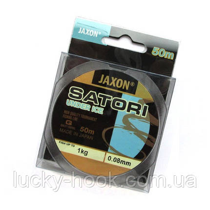 Леска Jaxon Satori Under Ice 50m 0.08mm, фото 2