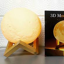Настольний светильник Magic 3D Moon Light 15см