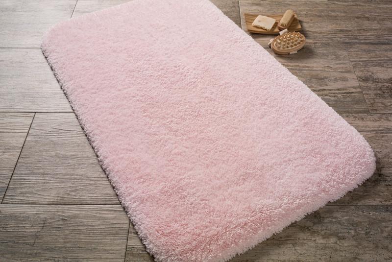 Коврик в ванную комнату 80х140 CONFETTI Miami розовый
