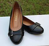 Туфли женские на низком ходу из натуральной кожи от производителя модель ОУ10817, фото 2