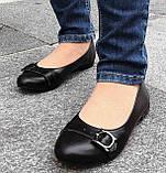 Туфли женские на низком ходу из натуральной кожи от производителя модель ОУ10817, фото 3