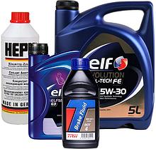 Технические жидкости (масло, антифриз, тормозная жидкость и др.)