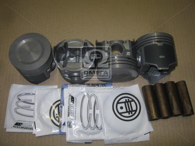 ⭐⭐⭐⭐⭐ Поршень цилиндра ВАЗ 21011,2106 d=79,8 группа A Мотор Комплект (Black Edition/EXPERT+поршневой палец+поршневые кольца) (МД Кострома)