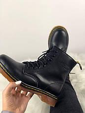 Женские ботинки в стиле Dr. Martens Original c 8 парами люверсов без меха, фото 3
