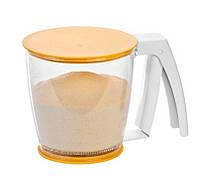Сито механическое для муки и сахара Tescoma DELICIA 630341
