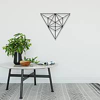 """Декор для стен. Панно из металла """"Треугольник"""", фото 1"""
