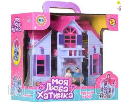 """Кукольный домик """"Моя люба хатинка""""  Домик для кукол"""
