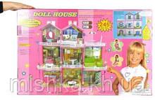 Кукольный домик «Doll house» большой кукольный дом 245 деталей