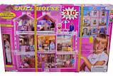 Ляльковий будиночок «Doll house» великий ляльковий дім 245 деталей, фото 2