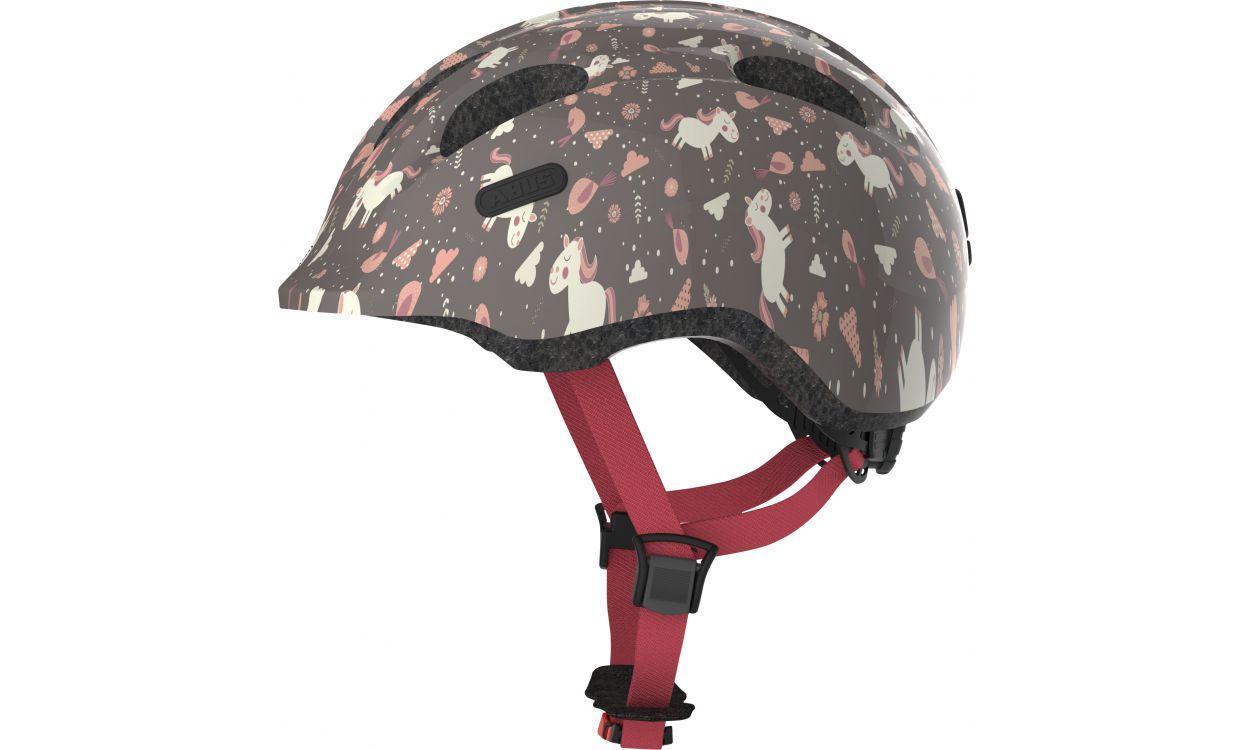Велосипедний дитячий шолом ABUS SMILEY 2.0 S 45-50 Rose Horse