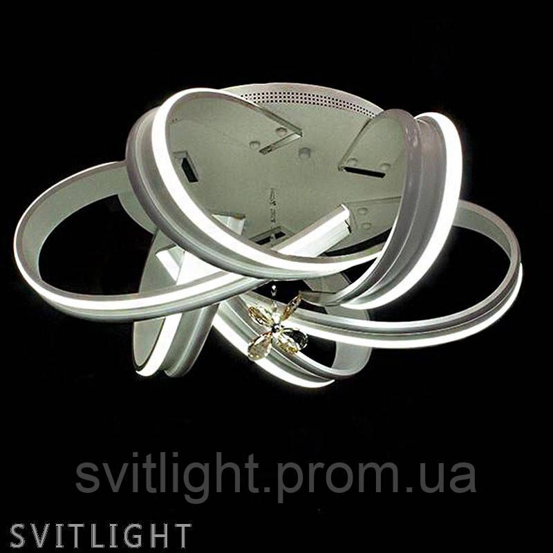 Люстра потолочная V1807/6/144W WH R Svitlight
