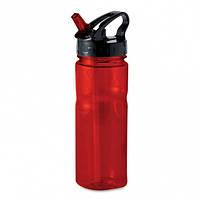 Бутылка Nina пластиковая с носиком, 500 мл, красная, от 10 шт