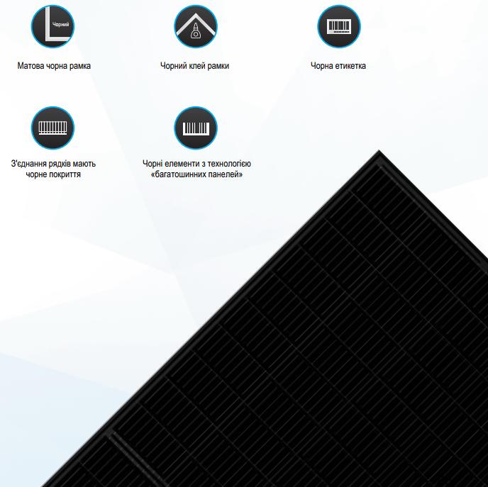 Сонячні батареї Trina Solar TSM-DE08M 375 Вт, 9BB, Half Cell