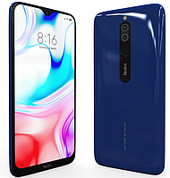 Смартфон Xiaomi Redmi 8 3/32Gb Blue (Global ROM + OTA)