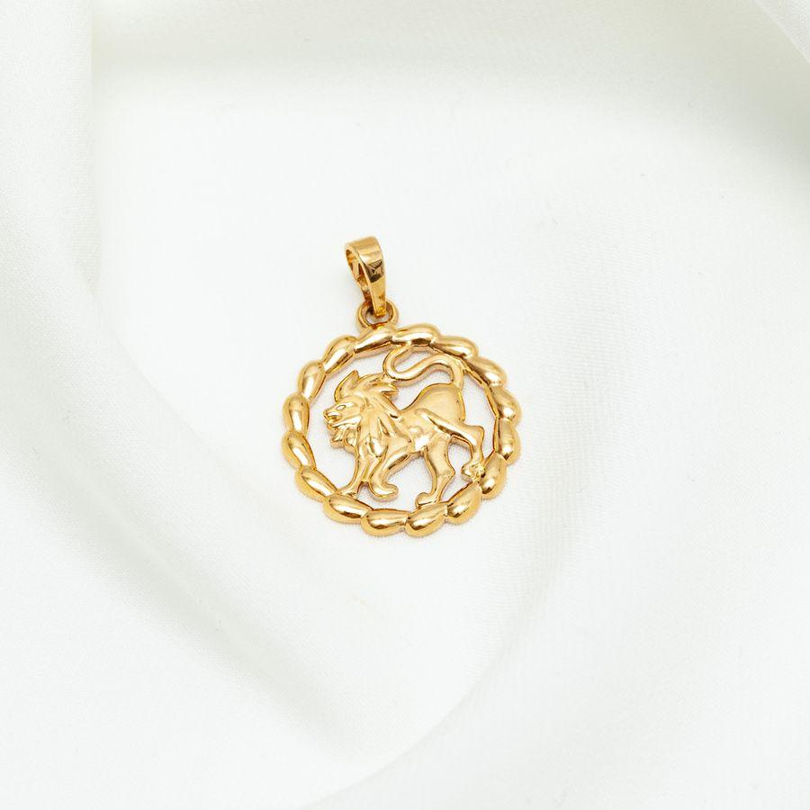Кулон знак зодиака лев 44 156007